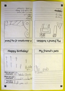 Y3 biography work