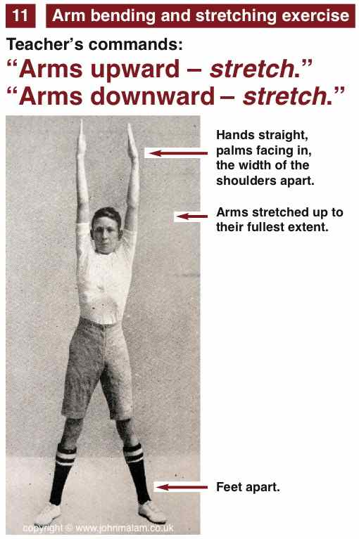 Drill - Arm stretching