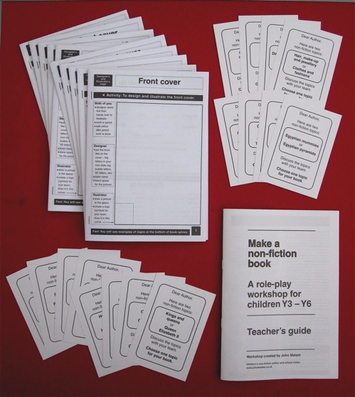 Non-fiction workshop pack